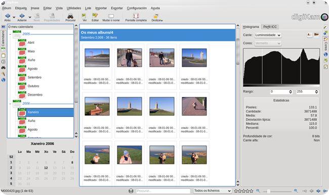 Guida a DigiKam: Come correggere la distorsione lenticolare.  digiKam è un avanzato gestore di fotografie per KDE. Supporta tutti i principali formati grafici. Fa parte di KDE Extragear.  Le foto sono organizzate in album/cartelle ed è possibile gestirle ordinandole per cartella, per data (anche con l'ausilio di una linea temporale) e per etichette (tag).  Oltre all'aggiunta di etichette alle foto, è anche possibile inserire commenti. digiKam
