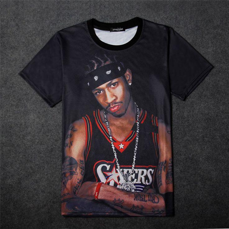 Stephen Curry Jersey 3d Tee Shirt Homme Basketball Superstars Kyrie Irving Paul George Lebron Fashion Tshirt Men T-shirt Hip Hop                                                                                                                                                                                 Más