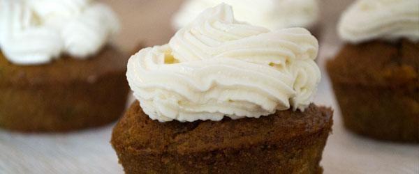 Classy courgette cupcakes - Eerlijker Eten