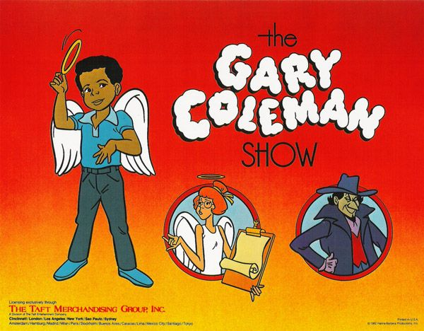 With the success of Gary Coleman in the televison show Diff'rent Strokes, Hanna-Barbera produced a Saturday morning cartoon based on a television movie Gary did called The Boy with the Broken Halo. Description from flickr.com. I searched for this on bing.com/images