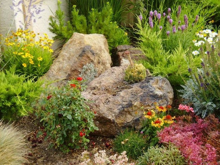 rockgarden design - Garden Design Using Rocks