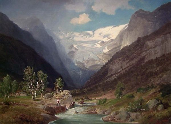 Johan Fredrik Eckersberg – Norsk kunstnerleksikon