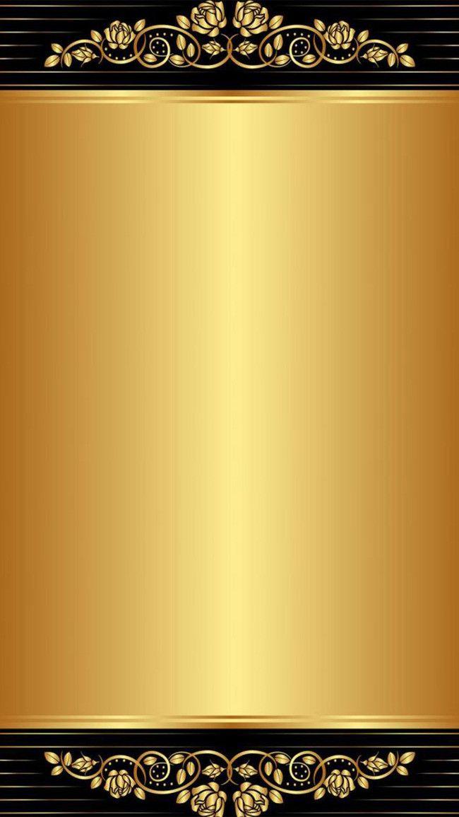 H5 Black Gold Pattern Background Background Patterns Poster Background Design Gold Wallpaper Background