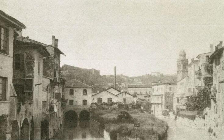 Piazza Isolo - Al tempo in cui la piazza non c'era http://www.veronavintage.it/verona-antica/immagini-storiche-verona/verona-storica-piazza-asolo