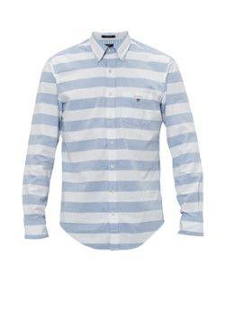 Gant Barstripe Oxford regular fit overhemd
