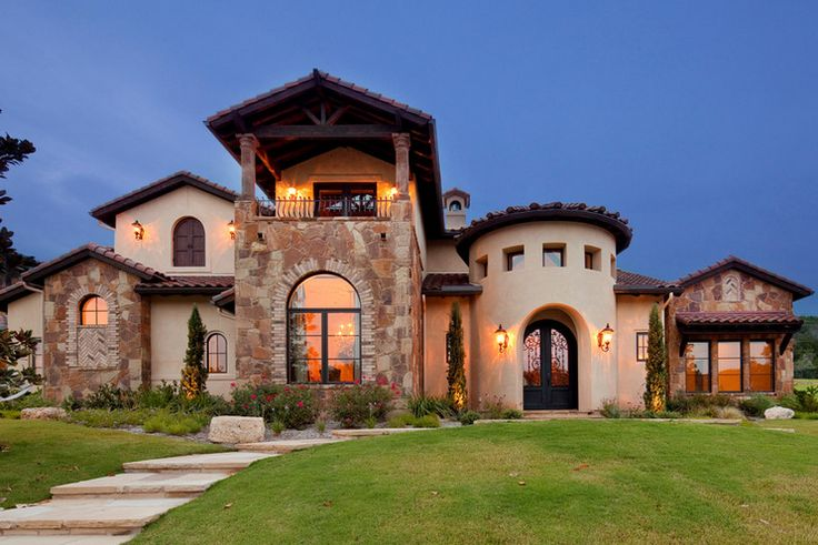 Spanish colonial one floor architecture google search for Luxury spanish style homes