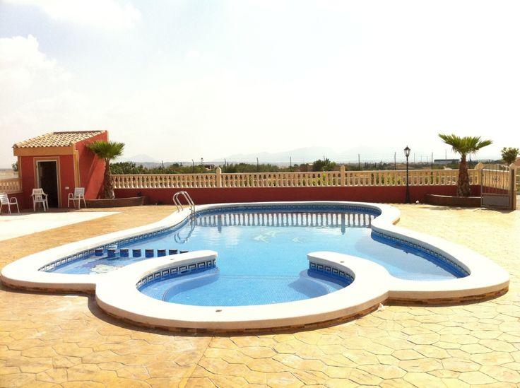 8 best backyard 3d designs images on pinterest diy pool for Precio piscina obra 8x4