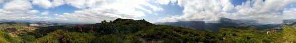 Panoramica de Las Medulas, Mina romana, Leon
