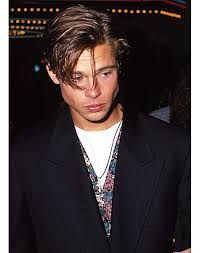 Image result for a very young brad pitt