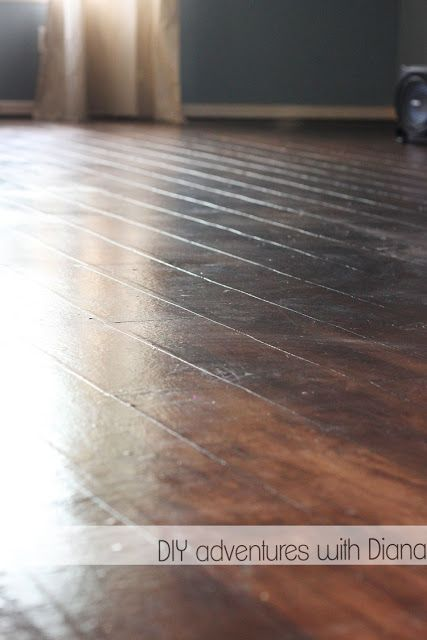 My new blog! and my new faux wood  paper floors