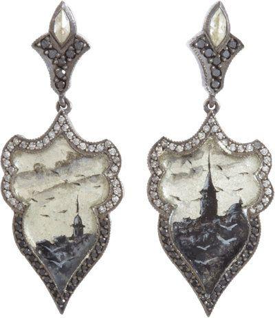 Sevan Bicakci Diamond Istanbul Drop Earrings at Barneys.com