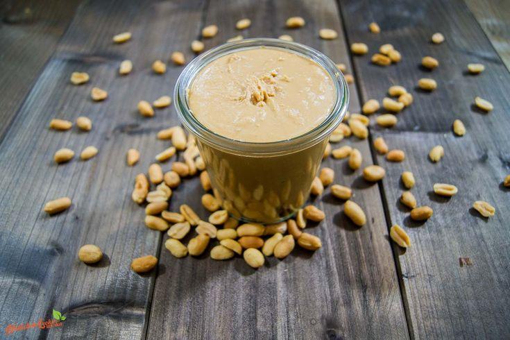 Erdnussbutter selber machen -- Rezept und Anleitung - Natürlich Lecker