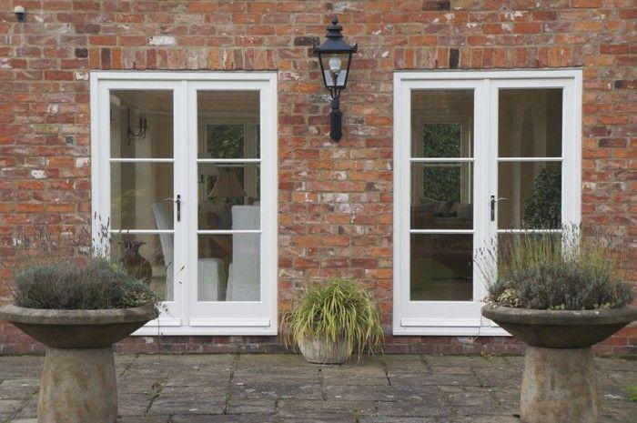 Yorkshire – Front Door, Flush Casement Windows and French Doors