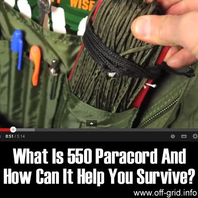What is 550 Paracord and How Can It Help You Survive_