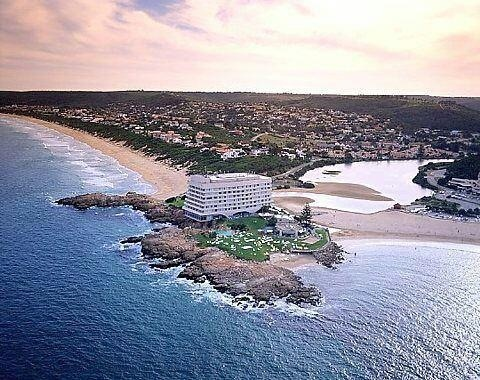 The Beacon Island Hotel in Plettenberg Bay, South Africa.