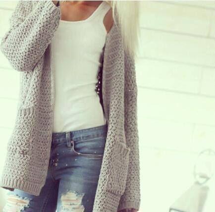 http://www.soshevo.com - Chunky knitwear ideas for this a/w season. #knitwear…