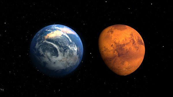 Ученые озвучили дату столкновения Земли и Марса http://actualnews.org/exclusive/155633-uchenye-ozvuchili-datu-stolknoveniya-zemli-i-marsa.html  Американские ученые из Висконсинского университета в Мадисоне назвали приблизительную дату неизбежного столкновения Марса и Земли. Оказалось, что две планеты встретятся через миллиарды лет. Материалы исследования размещены в издании Scientific American.