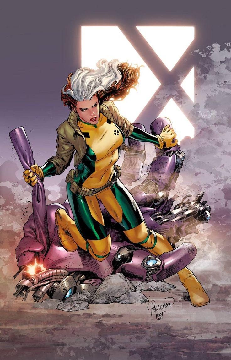 Rogue by Carlo Pagulayan, inks by Jeffrey Huet, colours by Rain Beredo *