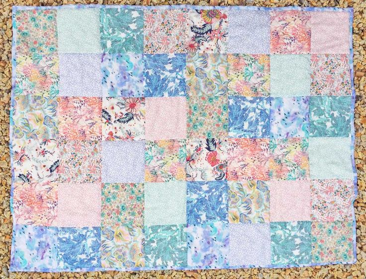 SS17 Lovely Liberty Cot Quilt