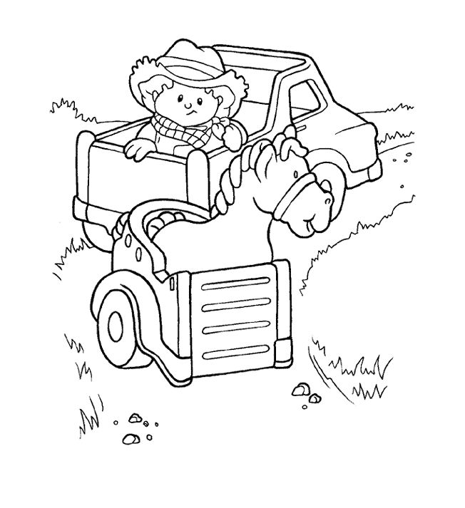 15 best Fisher Price Coloring Pages