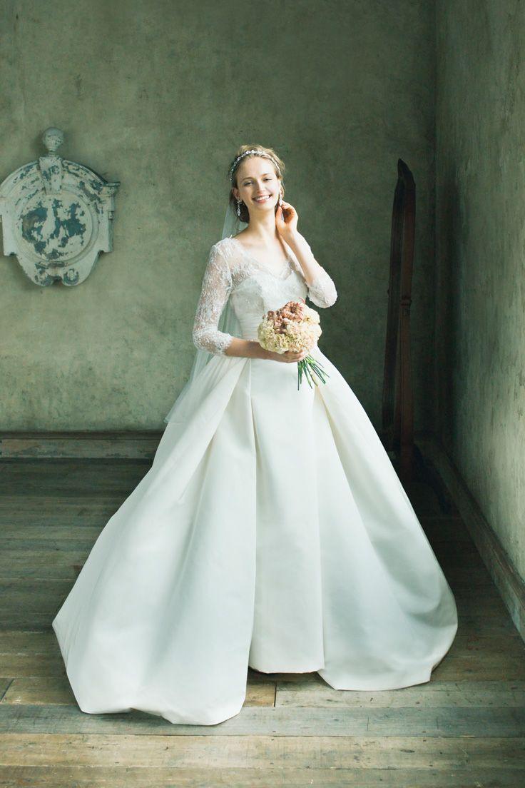 Annemarie #NOVARESE #ノバレーゼ #weddingdress #lace #brand #CarolinaHerrera #NY