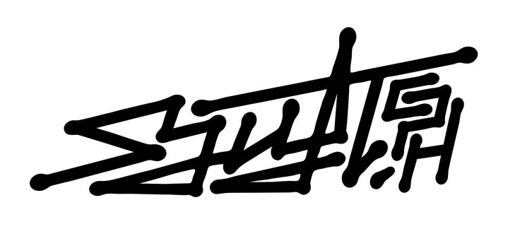 Clothing brand 'Sjuft Cph' logo design  www.totcph.com
