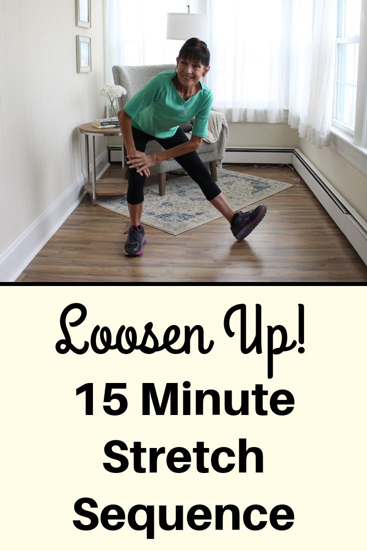 15 minute stretch routine to help you loosen up senior