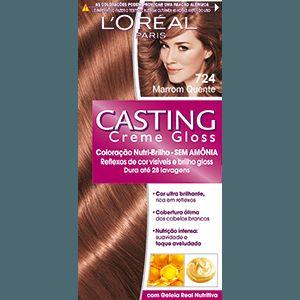 Tonalizante Casting Creme Gloss Cor Castanho L Or 233 Al Em