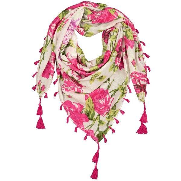 Rose Print Scarf