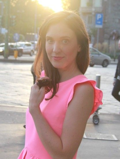 Pinky bonbon von stephanie_mo auf STYLIGHT #sandro #pink #dress