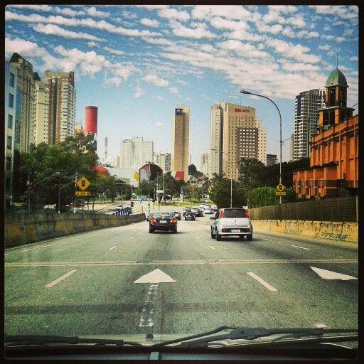 São Paulo . ponte do Morumbi