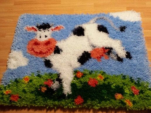 alfombra de lana de nudos trapillo pinterest lana de