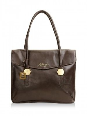 Hidesign Handbag With Envelope Flap by koovs.com