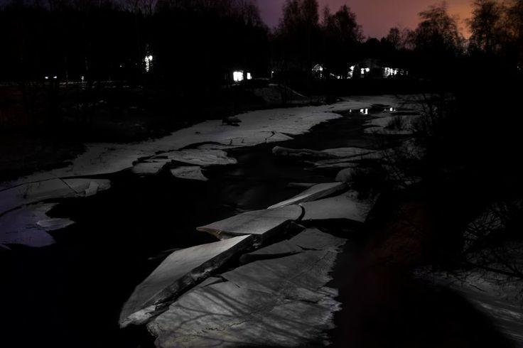 River Kyrönjoki, Finland, by Heikki Rantala