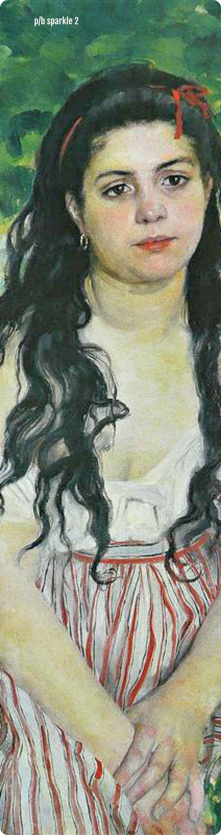 Pierre-Auguste Renoir (1841-1919): In Summer (The Gypsy), 1868