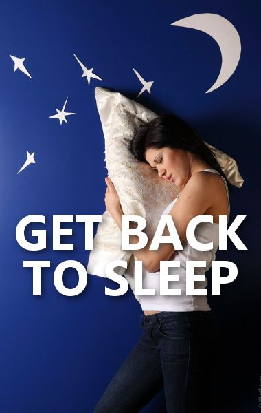 Dr. Oz talked about ways to get back to sleep in the middle of the night, including watching ASMR videos, staying in the same position for 15 minutes and breathing different, and putting a pillow under your knee. http://www.wellbuzz.com/dr-oz-general-health/dr-oz-get-back-sleep-night-watch-asmr-videos/