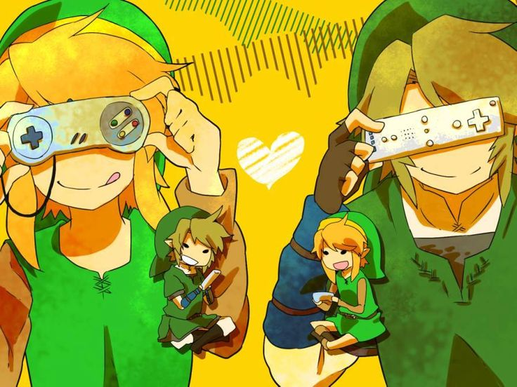 Crossover- Legend of Zelda x Kagamine Rin and Kagamine Len- Remote Control
