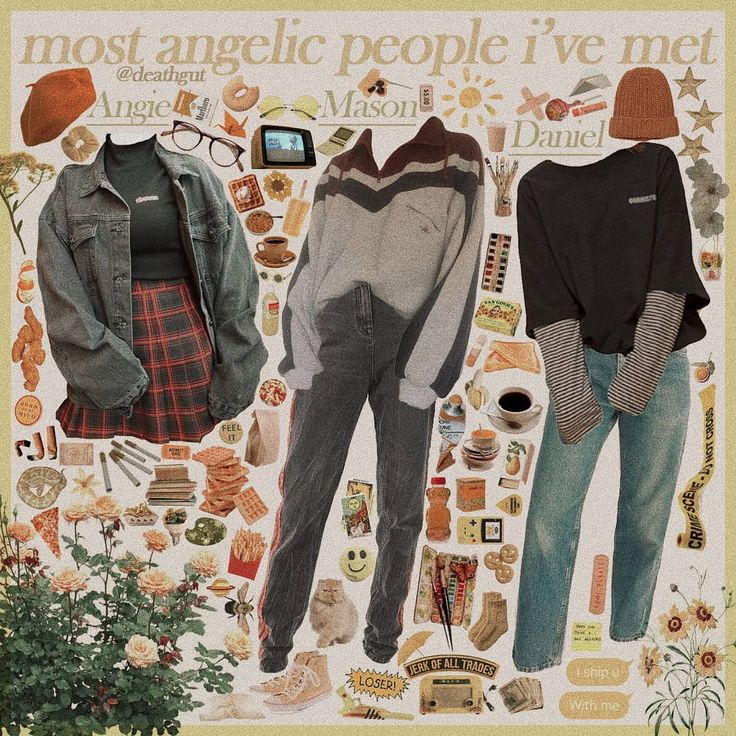 Grunge Aesthetic Clothes Pinterest