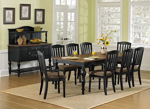 American Signature Furniture   Castleton Dining Room Collection Dining  Table $699.99