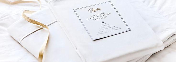 20% OFF on Rialto Egyptian Cotton Sheet Sets- Shop now!