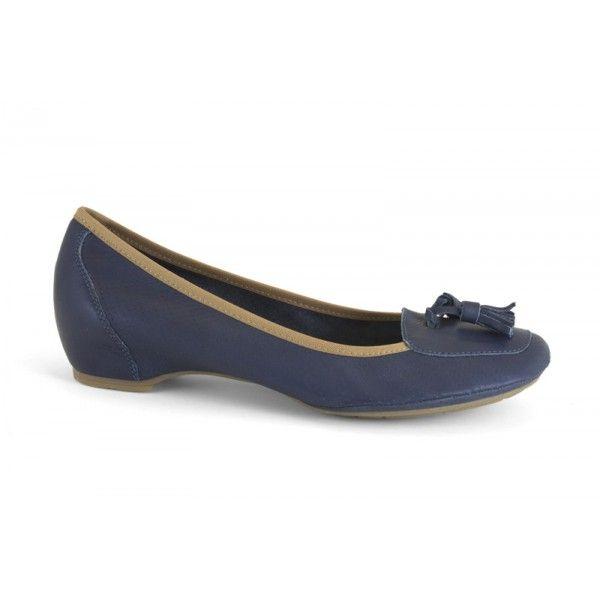 13050-626 Luna puntos petroleo - zapato de piel de la marca Mikaela