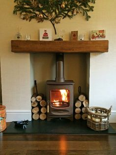 Charnwood Cove 2 Wood Stove in Bronze