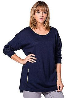 Loose Fit Pull Over Jumper