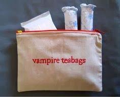 Vampire teabags!