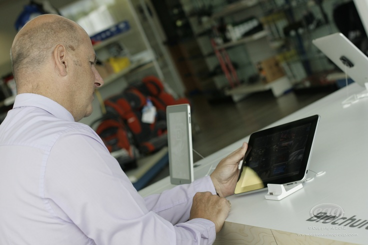 Look through digital brochures or view our entire used car stock on our customer iPads at our Dunton dealership in Essex.