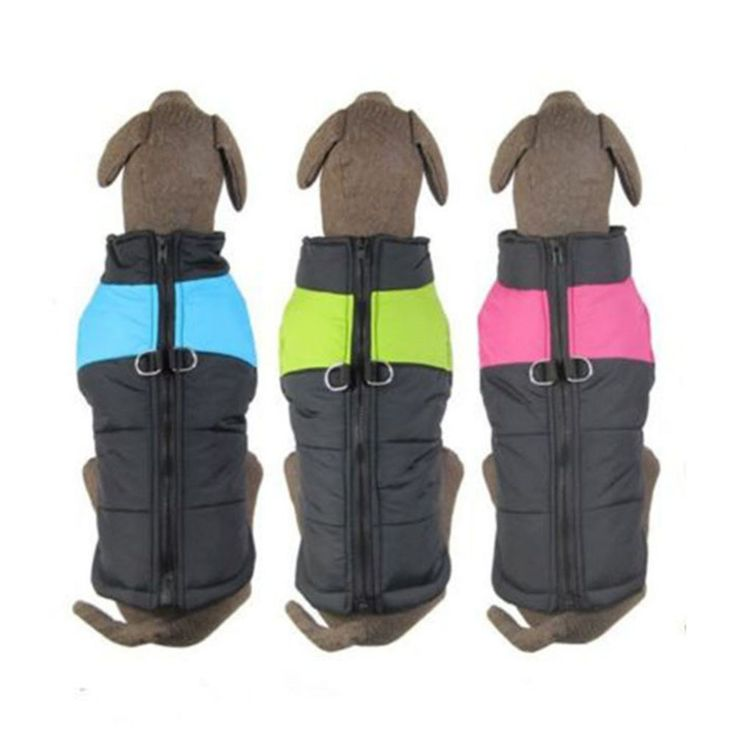 3 Colors S-5XL Waterproof Pet Dog PuppyWarm Winter Dog Clothes Cloth Jacket Clothing Coat For Small Medium Large Dogs Free Ship //Price: $7.95 & FREE Shipping //     #hashtag1