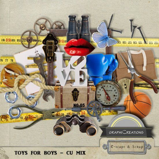 Toys for boys - CU MIX