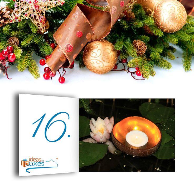 Wie schnell die Zeit vergeht. Heute ist schon der 16. Dezember und heute lohnt es sich mehr einzukaufen. Wenn ihr zwei Cocanut Bowls kauft zahlt ihr nur 8,90€, bei drei Cocanut Bowls sogar nur 7,90€  Für eine wunderschön dekorierte Wohnung.  https://www.ideas-in-boxes.de/coconut-bowl-metal-foil-gold.html  #Adventskalender #Advent #Weihnachten #Weihnachtsbaum #Rabatt #ideasinboxes #Geschenkbox #Geschenkidee