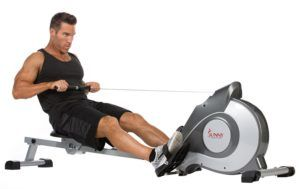 The Sunny Health & Fitness SF-RW5515 Magnetic Rowing Machine provides all the facilities with any and everything all at-home fitness enthusiasts could wish for. This is the best indoor rowing machine with a well-constructed design. Comfortable seat and handles, foot pads, large display and overall construction provide such a workout statistics so that you never wonder about your hard work paying off.