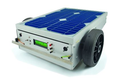 A robotic lawn mowers powered by Solar Energy with an Arduino heart